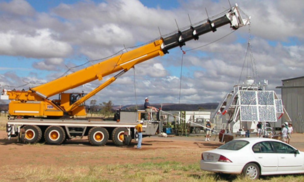 Monitoring system for crane security
