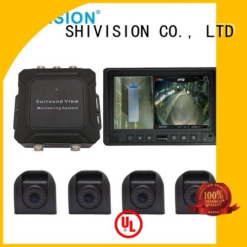 monitoring system all around Shivision Brand vehicle camera system 360 supplier