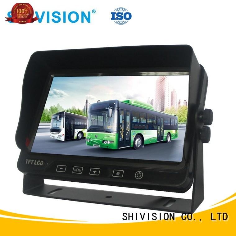 monitors vehicle reverse camera monitor dvr mirror Shivision Brand