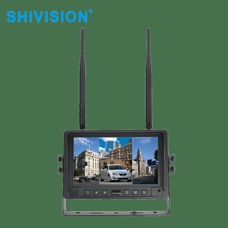 Shivision SHIVISION-M02074ch-7 inch car monitor-2.4G Digital Wireless Monitor 2.4G Digital Wireless Monitor image2