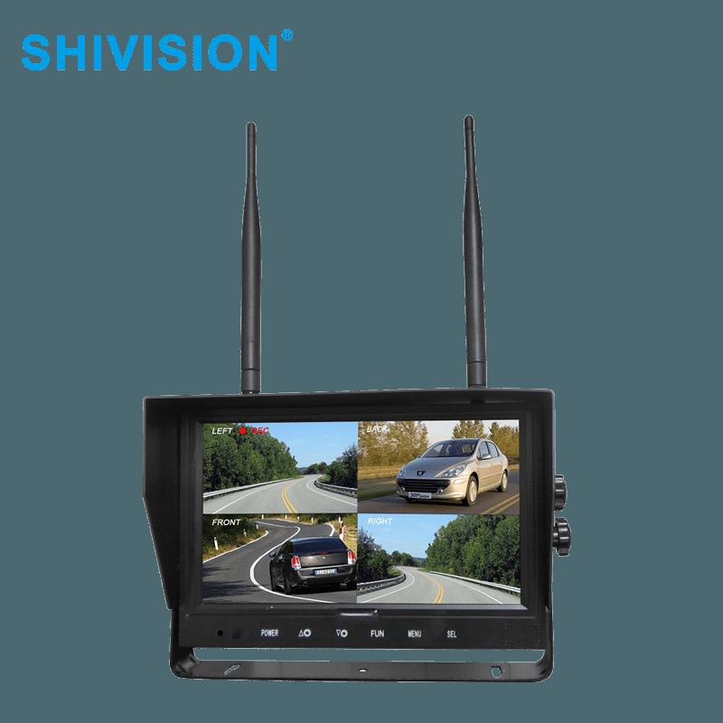 SHIVISION-M02094ch-9  inch car monitor-2.4G Digital Wireless Monitor