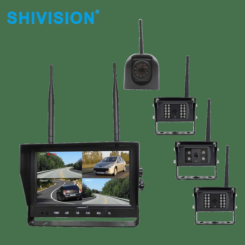 Shivision SHIVISION-M02094CH-C09158sAIC/1348I-9 inch 2.4GHz Digital Wireless Quad-view System 9 2.4GHz Digital Wireless Quad-view System image4