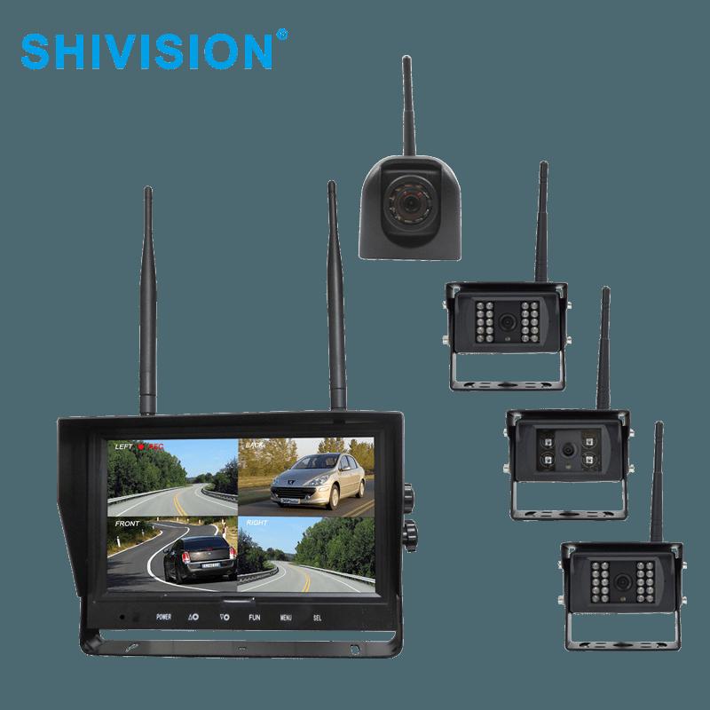 SHIVISION-M02094CH-C09158sAIC/1348I-9 inch 2.4GHz Digital Wireless Quad-view System