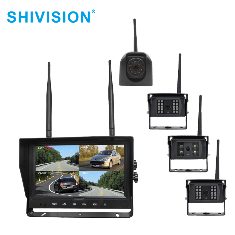 SHIVISION-M02094CH-C09158sAIC/1348I-9 inch 2.4GHz Digital Wireless Quad-view System