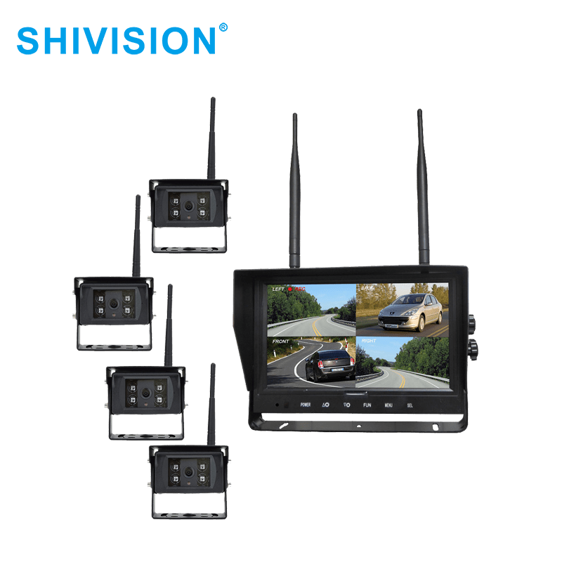 Shivision-Find Wireless Video Quad View System Shivision-m02094ch-c09158saic1348i-9 Inch 2-1