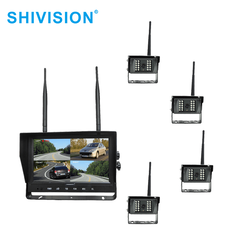 Shivision-Find Wireless Video Quad View System Shivision-m02094ch-c09158saic1348i-9 Inch 2