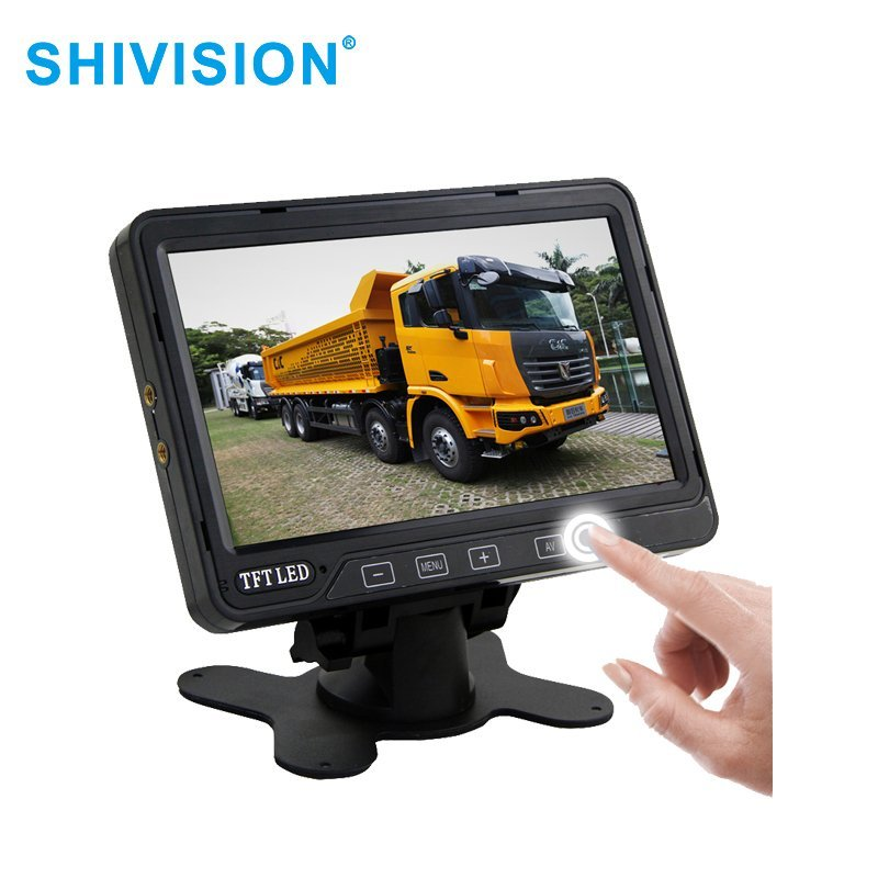 Shivision SHIVISION-M0177-7 inch Touch-Control Monitors Rear View Monitor system image5