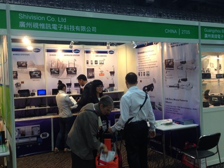 Shivision shown up in the 2015 Global Sources Security Fair!