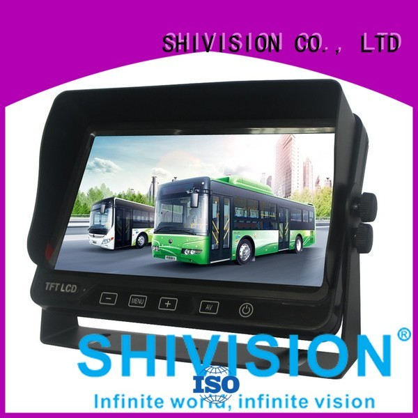 Shivision Brand dvr roof custom vehicle reverse camera monitor