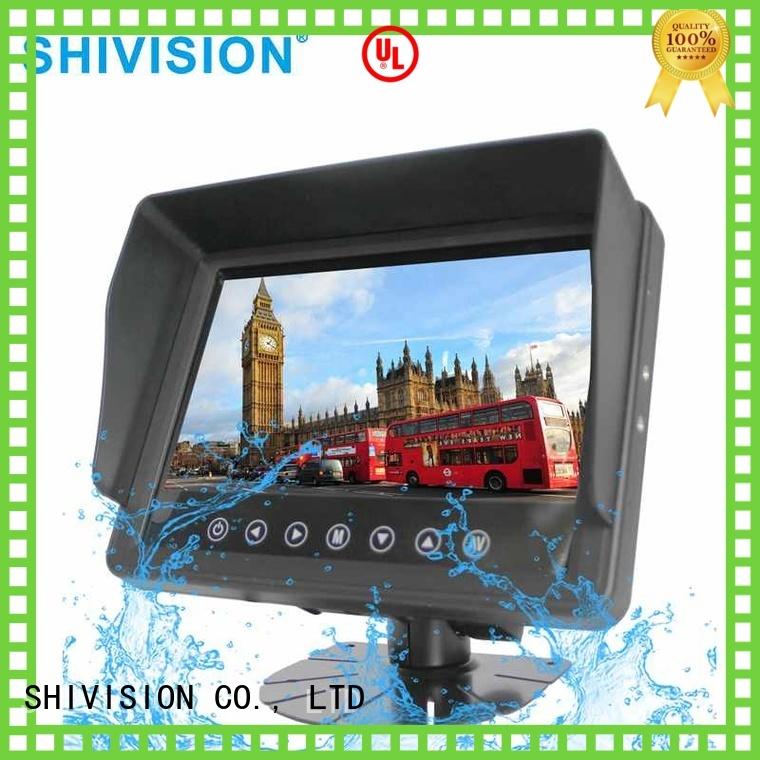 Shivision Brand dvr backup vehicle reverse camera monitor car supplier