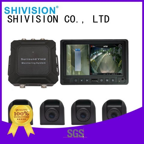 view for bus vehicle camera system 360 monitoring Shivision company