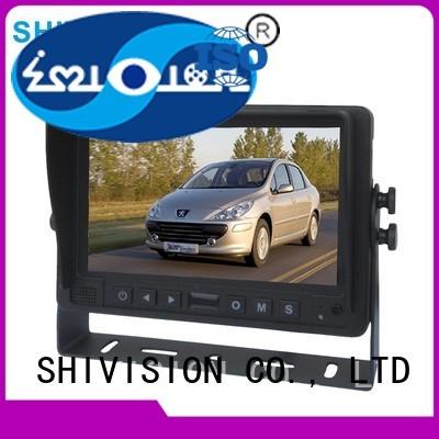 car vehicle reverse camera monitor roof Shivision company
