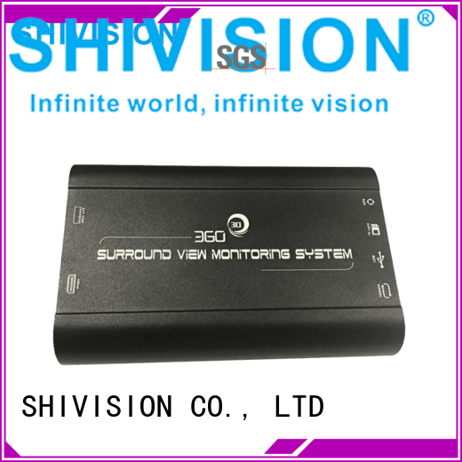 Shivision Brand view monitoring all around vehicle camera system 360