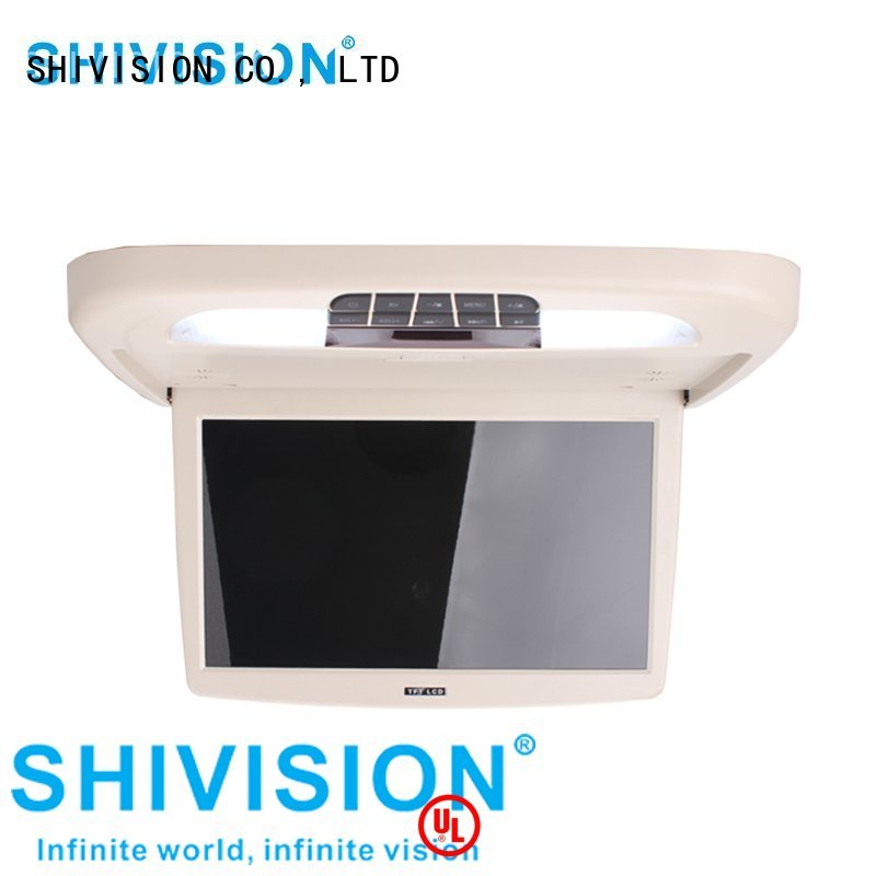 vehicle reverse camera monitor backup monitors waterproof Shivision Brand company
