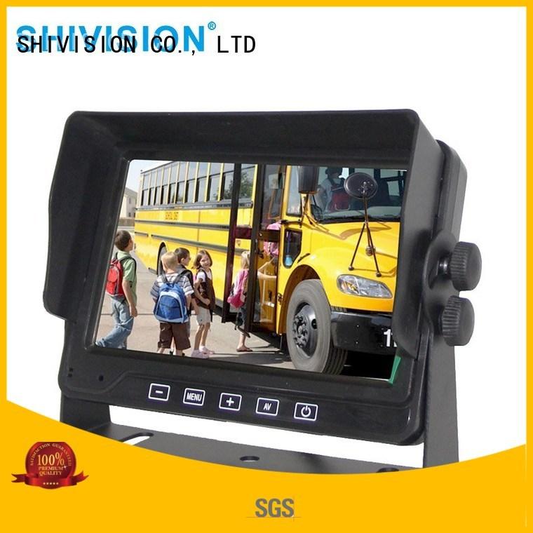 Quality Shivision Brand vehicle reverse camera monitor dvr car