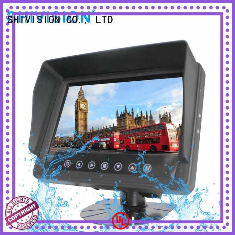 vehicle reverse camera monitor backup car Shivision Brand company
