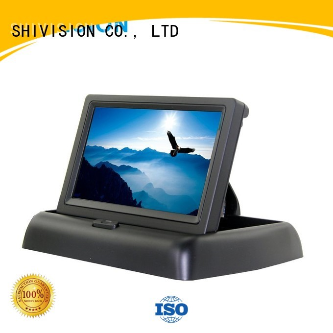waterproof monitors dvr Shivision Brand vehicle reverse camera monitor manufacture