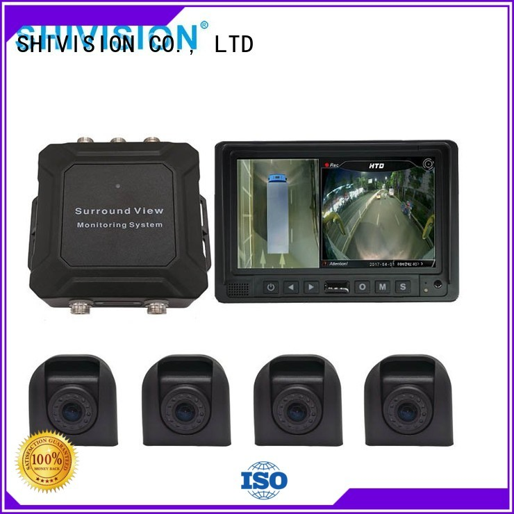 360 view vehicle camera system system 3d Shivision Brand vehicle camera system 360