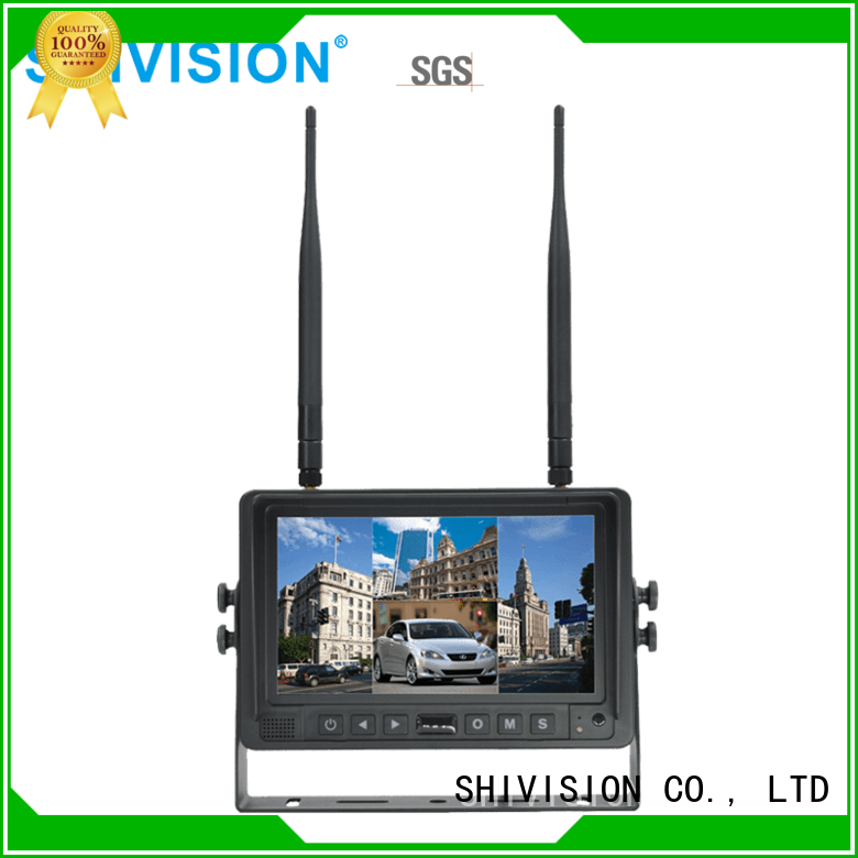 car monitor monitor wireless security camera monitor Shivision
