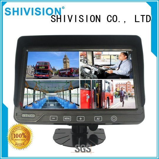 Custom backup roof rear view monitor system Shivision monitor