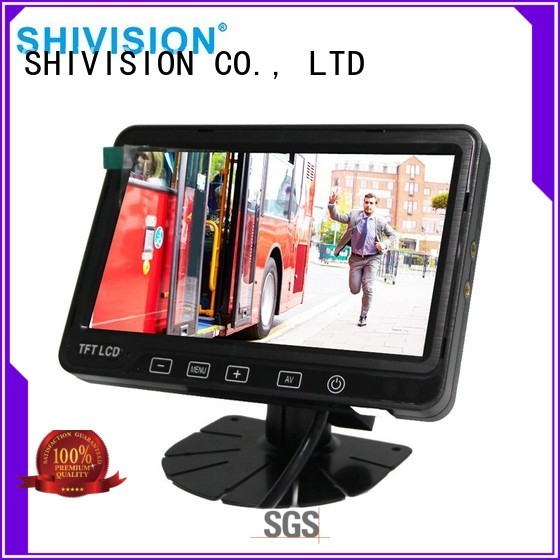 vehicle reverse camera monitor dvr roof touchcontrol Shivision Brand