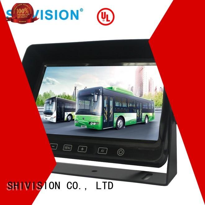 monitors car dvr vehicle reverse camera monitor Shivision Brand