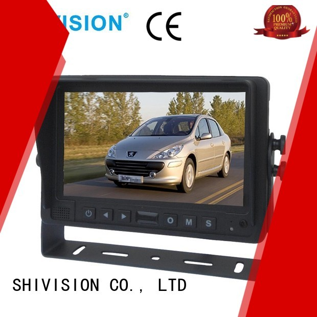 roof vehicle reverse camera monitor dvr backup Shivision Brand