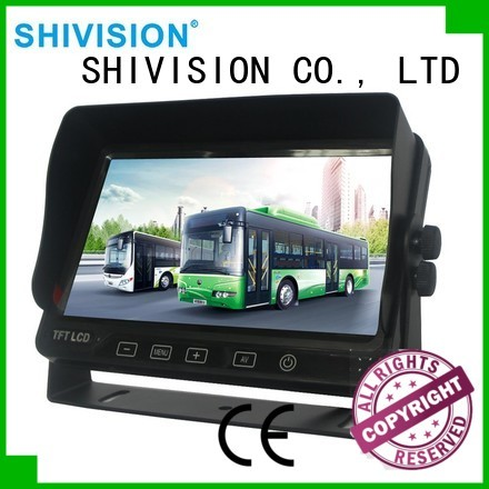 monitor dvr car Shivision Brand rear view monitor system supplier