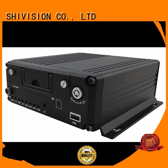 Custom sd 8ch car mobile dvr Shivision hdd