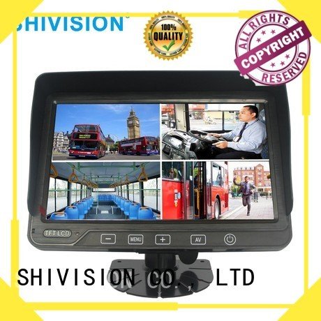 waterproof Custom roof monitor rear view monitor system Shivision dvr